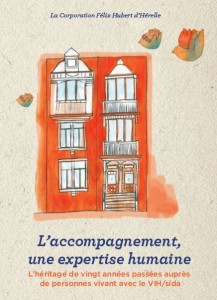 """La couverture du livre publié par la Maison d'Hérelle """"L'accompagnement, une expertise humaine"""""""